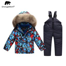 $enCountryForm.capitalKeyWord Australia - Orangemom russian winter Suit for boy Windbreaker children snow wear warm jacket coat for boys kinder parkas kids ski clothes