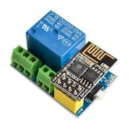 Esp8266 Module Australia - ESP8266 ESP-01S 5V WiFi Relay Module Things Smart Home Remote Control Switch for Arduino Phone APP ESP01S Wireless WIFI Module
