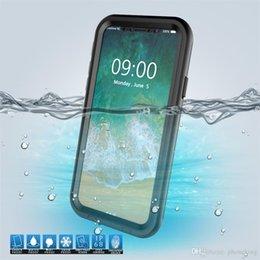 $enCountryForm.capitalKeyWord Australia - 3 Layer Protection Phone Cover Waterproof Phone Case For IPhone X Colorful Plastic Waterproof Bag Case Swim Waterproof Case