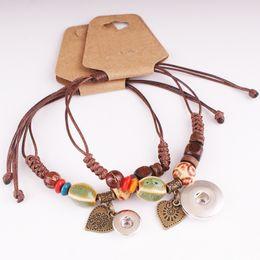 $enCountryForm.capitalKeyWord NZ - NEW 18mm 12mm angel LOVE snap button jewelry Shambhala charm bracelet for Women GIRLS MF235
