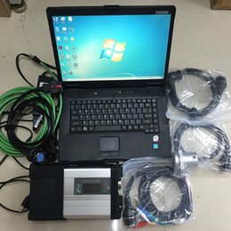 Venta al por mayor de V07.2019 MB Star C5 SD C5 con DAS Vediamo DTS EPC WIS HHT 360GB SSD para automóviles y camiones Toughbook CF-52 CF52
