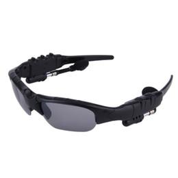 Солнцезащитные очки Гарнитура Smart Очки Стерео Спорт Беспроводная связь Bluetooth V4.1 Наушники Громкая связь Наушники Музыкальный плеер для Samsung на Распродаже