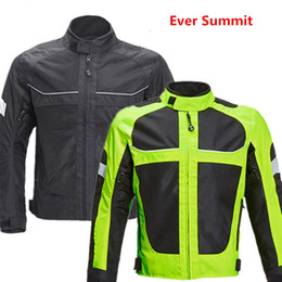 women summer jackets clothing Canada - Motorcycle Jerseys Summer Men and Women Shatter-resistant Clothing Reflective Breathable Motorcycle Suit Four Seasons Jacket Racing Suit