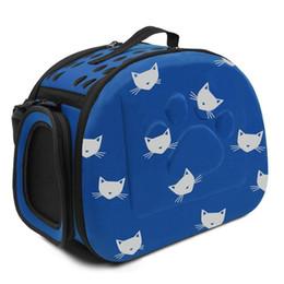 $enCountryForm.capitalKeyWord UK - Cat Carrier Bag Outdoor Dog Carrier Bag Foldable EVA Pet Kennel Puppy Dog Cat Outdoor Travel Shoulder Bag for Small Dog