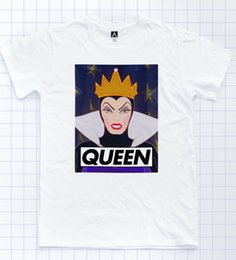 $enCountryForm.capitalKeyWord Australia - Queen T-shirt Snow Dwarfs Drag LGBT Pride Tee Gay Race Sassy Princess White Top Men Women Unisex Fashion tshirt Free Shipping
