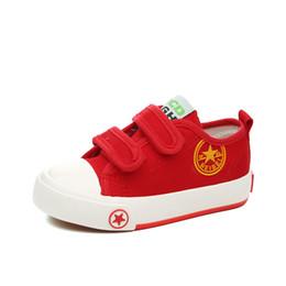 $enCountryForm.capitalKeyWord Australia - designer strap kids canvas shoes for little boy and girls spring autumn breathable toddler sneaker black