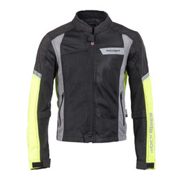$enCountryForm.capitalKeyWord UK - ROCK BIKER Summer Motorcycle Riding Clothes Men's and Women's Cross-country Equipment Reflective Safety Breathable Jacket.