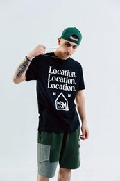 new shirts brand name 2019 - New Fashion Brand Los Angeles City Limited Joint Name Printed Men's T-shirt #D-402 in Europe and America in Spring