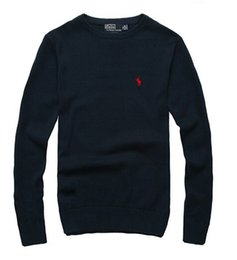 Wholesale man christmas sweaters resale online – Mens Clothing Winter Sweater Long Sleeve O Neck Men Sweater Slim fit Knitting Cashmere Sweaters Size S XXXL Color