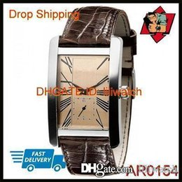 Wrist Watch Japan Movement Australia - 100% ORIGINAL JAPAN MOVEMENT DROP SHIPPING New AR0154 AR0155 Lovers Leather Strap Wrist Watch