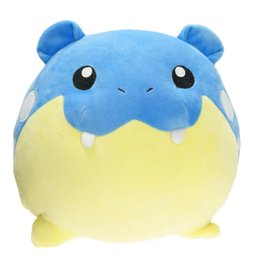 $enCountryForm.capitalKeyWord Australia - 15-33cm cartoon Plush Toy Spheal Stuffed Soft Dolls baby toys new year gift SH190913