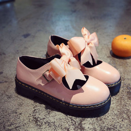 japanese lovely dolls UK - Lolita small leather shoes summer soft platform Japanese Mary Jane women's single shoes lovely round head student doll shoes