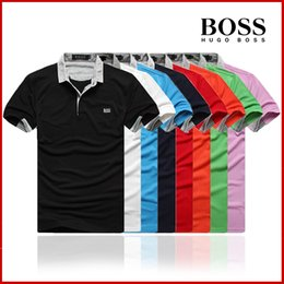 Wholesale designer luxury shirt for sale – custom Luxury Mens T Shirt DesignerS T Shirts New Embroidery Tiger Print Clothing Mens Brand Polo Shirt Size M XL G8 BOSS