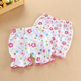 Natural Cotton Underwear Australia - Kid's summer shorts newborn baby cotton underwear shorts 0-24months baby pant gril short infant baby toddler girls short trouser