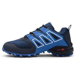 Мужская большой размер кросс-кантри кроссовки повседневная спортивная обувь для бега новый мужской нескользящей демпфирования обувь (размер 7-13)