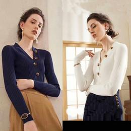 $enCountryForm.capitalKeyWord NZ - Autumn Women Brand Sweater Fashion Crew Neck Designer Luxury Letters Print Panelled Womens Clothes