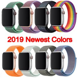 women red belts Australia - For Apple Watch Wristband Smart Straps 38mm 42mm 40mm 44mm Size Watchbands Sports Watch Belt Replacements Watch Band for Women Men
