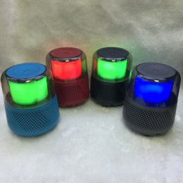$enCountryForm.capitalKeyWord Australia - Light Good Bass Mini Portable HI-FI Speaker Portable bluetooth super subwoofer With Big Sound And Beautiful Design Suit For Gift