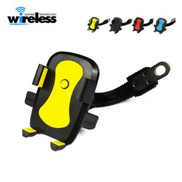 Wholesale Motorcycle Phone Holder Electromobile Motor Mount inch Phone Stand for bicycles electric cars motorcycles