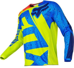 $enCountryForm.capitalKeyWord UK - 2019 New Red Black Yellow Moto GP Mountain Bike Motocross Jersey BMX DH Long MTB T-Shirt Clothes Sportswear Downhill MX MTB