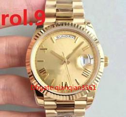 $enCountryForm.capitalKeyWord Australia - Mens Watch Automatic Movement Mechanical date Gold Stainess Steel Sapphire Glass Men Watches Luminous Wristwatches reloj de lujo datejust