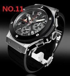 Опт Top New Hublot Черные мужские часы Автоматические механические мужские часы в стиле белого цвета