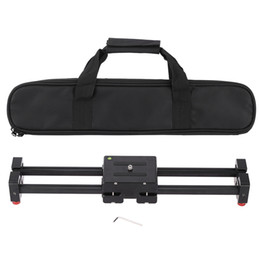 "$enCountryForm.capitalKeyWord NZ - Freeshipping V2-500 Compact Retractable Track Dolly Slider 50cm Rail Shooting Video Camera Stabilizer with 1 4"" and 3 8"" Thread Screw"