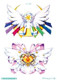 $enCountryForm.capitalKeyWord NZ - Rocooart New Sailor Moon Fake Tattoo Bowknot Taty Body Art Temporary Tattoo Sticker For Women Tatuagem Flash Tatouage Girl Tatoo