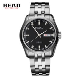 $enCountryForm.capitalKeyWord NZ - READ 2019 top brand new stainless steel Business Automatic men's wrist watches mechanical week date silver with white color 8021