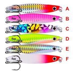 $enCountryForm.capitalKeyWord Australia - Fishing Lures 2019 1PC Jigging Lead Fish 7-21G Metal Jig Fishing Lure with Nepal Hooks 6 Colors Wobbler Artificial Hard Bait New