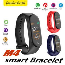 $enCountryForm.capitalKeyWord Australia - Cheapest M4 Fitness Smart Bracelet IP67 waterproof Heart Rate Monitor Sleep monitoring smartwatch PK Mi Band Wristbands Detachable colorful