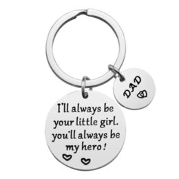 $enCountryForm.capitalKeyWord Australia - Keychain I'll Always Be Your Little Girl, You'll Always Be My Hero, Christmas Birthday Gift for Dad Father