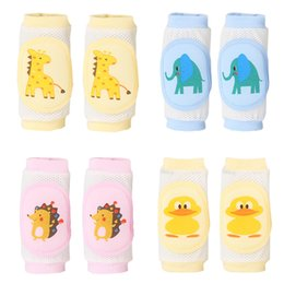 toddler crawling knee pads 2019 - Baby Leg Warmers Kids Kneepad Protector Soft Toddler Thicken Safety Crawling Well Knee Pads For Children cheap toddler c