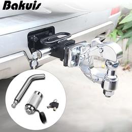 Double keyeD locks online shopping - NEW Trailer hook Car Back Trailer Locking Hitch Pin with Double Keys Rubber Cap Waterproof Lock Kit for