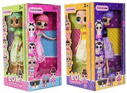 $enCountryForm.capitalKeyWord Australia - 9'5 Inch PVC Kawaii Anime Action Figures Realistic Reborn Dolls Gift 4 Styles 4pcs Display box LT721A