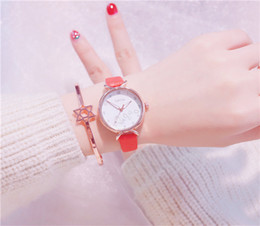 $enCountryForm.capitalKeyWord Australia - Fashion Style Wholesale Wrist Watches Hot Sale Luxury Designer Brand Ladies Dress Watches Quartz Analog 5 Colors Drop Ship Student Watch