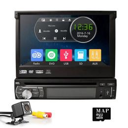 "$enCountryForm.capitalKeyWord Australia - universal 1 one Din 7"" inch Motorized Touch Screen Car DVD Player Radio GPS Navigator 1din Audio Stereo FM Steerin"