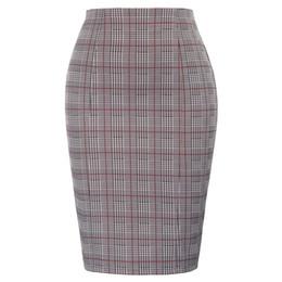 $enCountryForm.capitalKeyWord UK - Plus Size Office Ladies High Waist Swallow Gird Pattern Hips-wrapped Bodycon Classic Fashion Mini Pencil Skirt Q190517