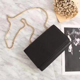 $enCountryForm.capitalKeyWord NZ - New Top Quality Bag Designer Genuine Leather Bags Classic 311228 Single Inclined Shoulder Brand Fashion Women Handbags Crossbody Chain Bags