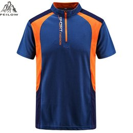L Orange Clothes Australia - Peilow Big Size L ~7xl ,8xl Brand Clothing Men Polo Shirt Men Quick -Drying Sporting Polo Shirt Short Sleeve Breathable Polo Shirt