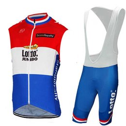 jersey sleeveless cycling Australia - Lotto New 2019 team Summer men Cycling Sleeveless jersey Bib shorts sets 9D gel pad Bicycle Clothing Outdoor sport Breathable Quick dry suit