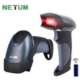 Code barCode reader online shopping - NETUM NT M2 Portable Laser Wireless Barcode Scanner Reader USB MHz KB Flash Memory Bar Codes for Windows MAC