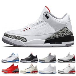 Wholesale men basketball shoes International Flight pure white Black Cement Korea Tinker JTH NRG QS Katrina Free Throw Line Fire Red True Blue sneaker