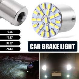3157 tail bulb NZ - Turn Lights Brake Bulb Durable Car LED Lamp Parking Tail Stop Light 3014 22SMD 1156 1157 3157 7443 Bright