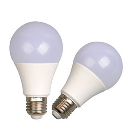 Smd Light Globe UK - SMD2835 E27 B22 LED Bulb 5W 7W 9W 12W 15W 18W E27 B22 270 Angle PC+PBT Superbright LED Global Bulb Light For Home and Inddor Lighting