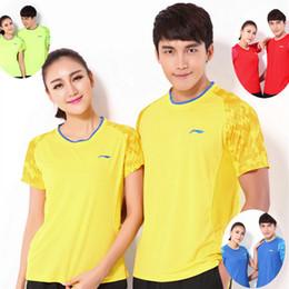 Sportswear T Shirt Badminton Australia - LNF6 Li Ning Badminton Suit Sportswear for Men and Women Short Sleeve T-shirt for Leisure Running Basketball casual wear Y3026