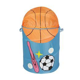 $enCountryForm.capitalKeyWord UK - Basketball Storage Baskets Baseball Football Laundry Basket Waterproof Fabric art Folding Laundry Bag Sundry Bucket kids Handbags GGA1891