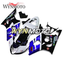 K3 Gsxr Fairings Australia - ABS Plastic Injection Motorcycle Fairings For Suzuki GSXR1000 K3 2003 2004 03 04 Covers gsxr 1000 motorcycle cowlings hulls Blue White Black