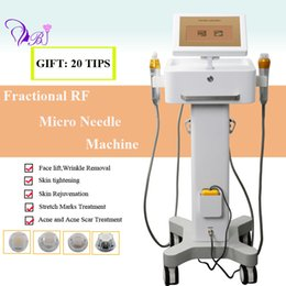Lifting thermage machine online shopping - microneedle RF machine micro needle skin rejuvenation beauty machine thermage fractional rf wrinkle removal beauty equipment