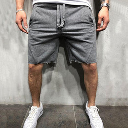 Wholesale Men Summer Casual Men Brand New Board Shorts WaterProof Solid Pockets Breathable Elastic Waist Fashion Casual Short Men